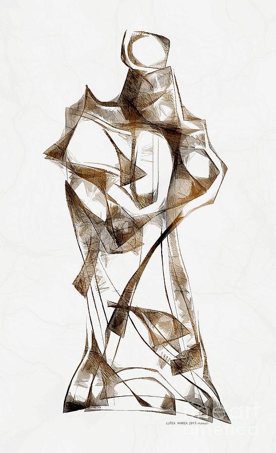 Abstraction Digital Art - Abstraction 2924 by Marek Lutek