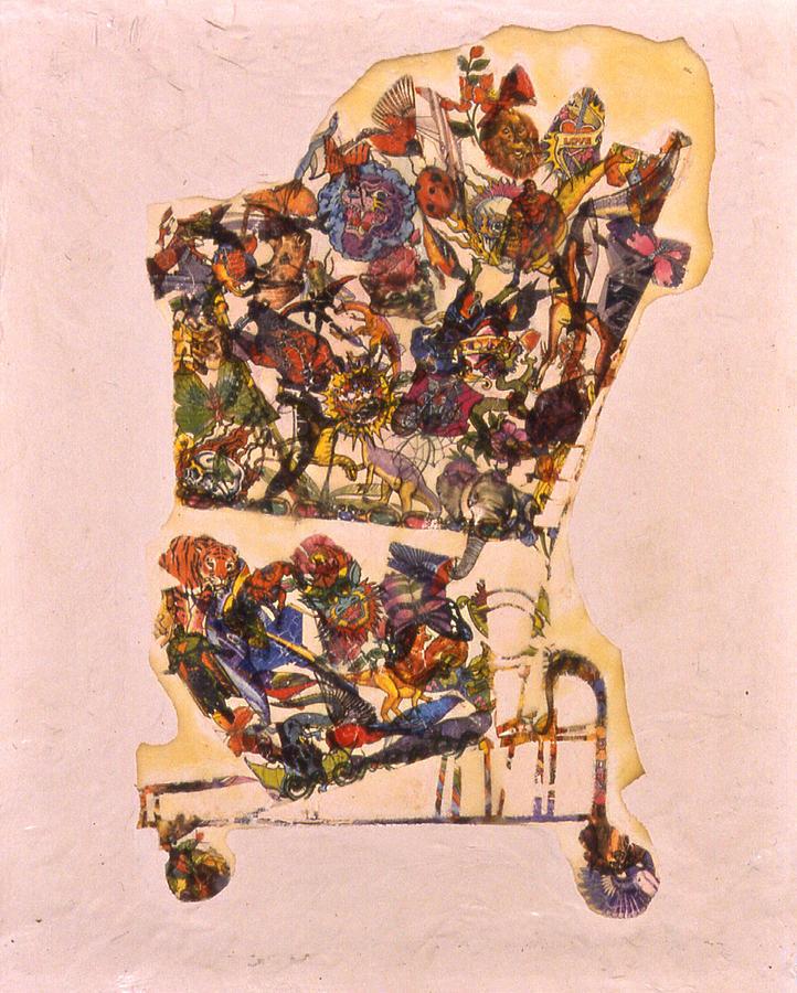 Karl Painting - Abundance by Karl Frey