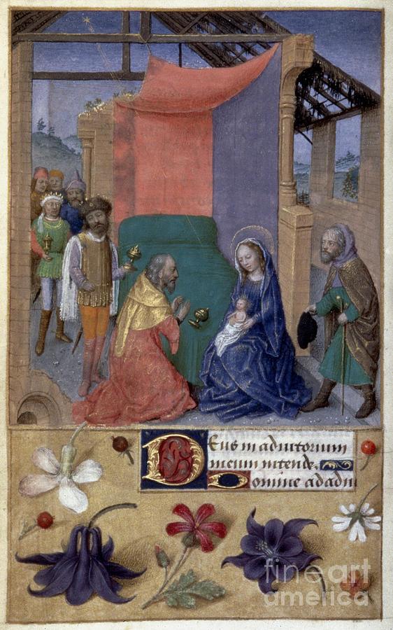 1480 Photograph - Adoration Of Magi by Granger