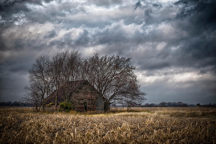 Agriculture Photograph - After Harvest by Garett Gabriel