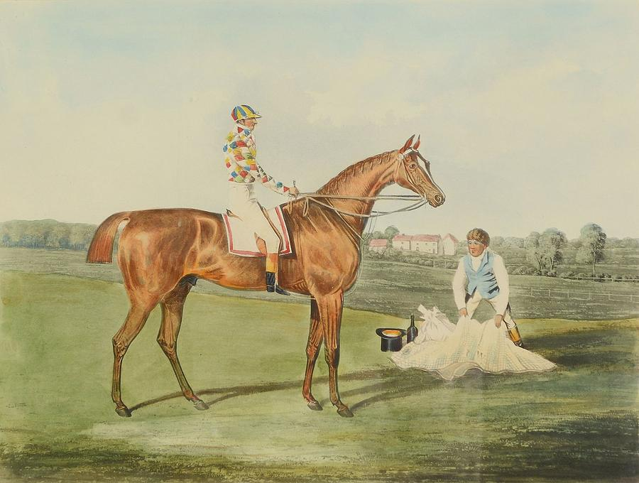 After John Frederick Herring The Elder Winning Horses Of The Great Painting