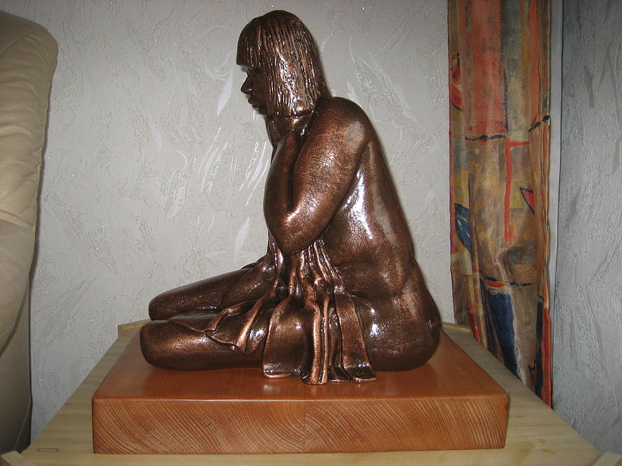 Maternity Sculpture - After Midnight by Marshall Agbo