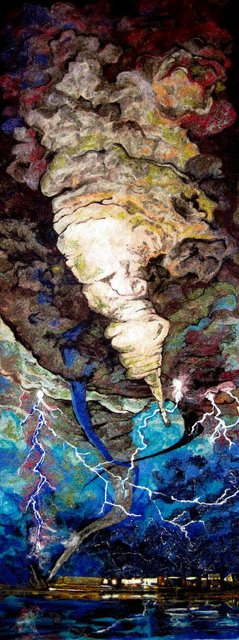 Storm Tapestry - Textile - Air by Kimberly Simon