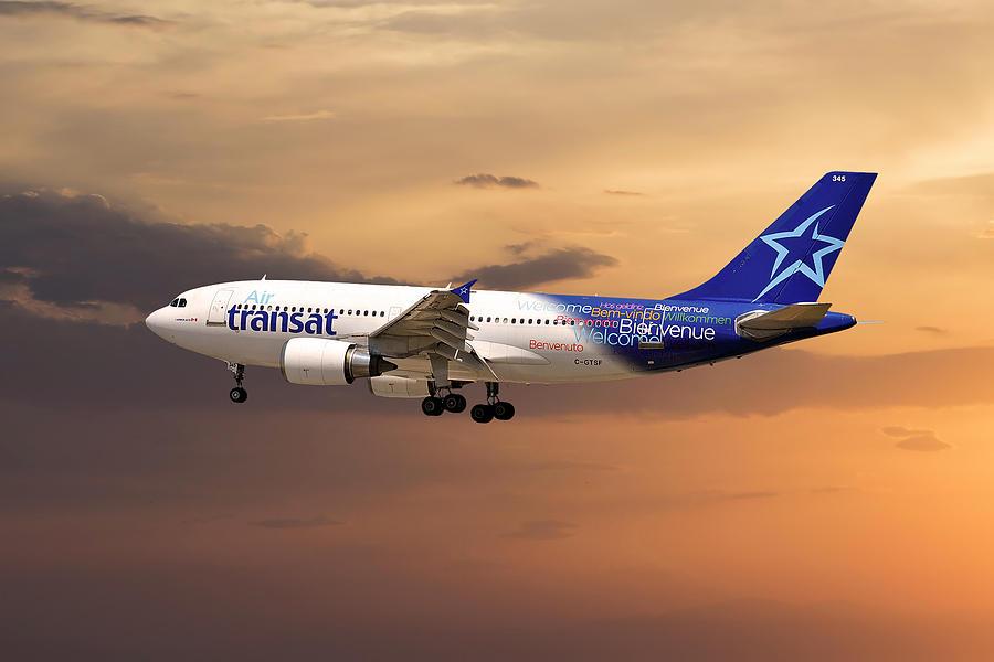 Air Transat Photograph - Air Transat by Smart Aviation