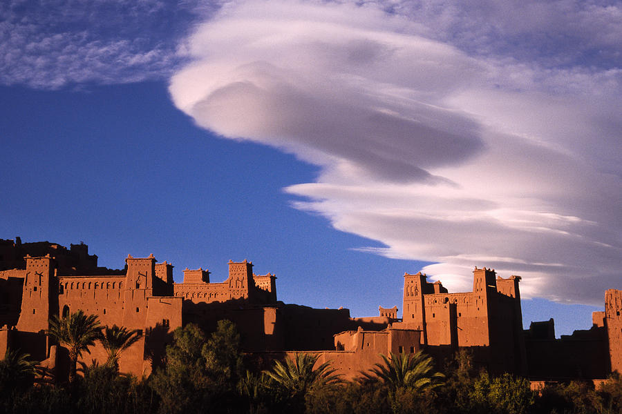 North Africa Photograph - Ait Benhaddou Casbah by Michele Burgess