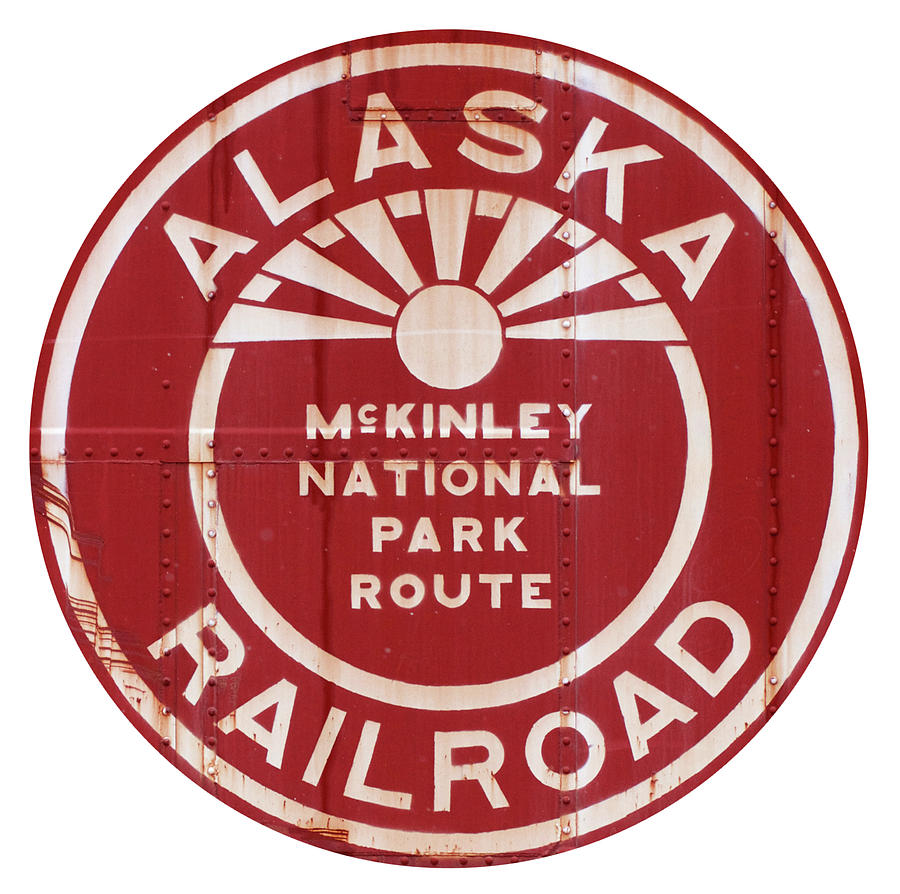 Alaska Photograph - Alaska Railroad Aged by Pat Turner