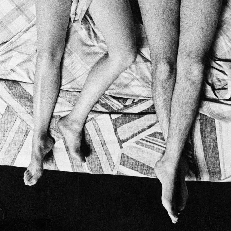Sleep Photograph - Alba And Paul - Detail by Ted Spagna