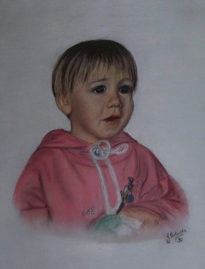 Alejandro Painting by Justyna Pastuszka
