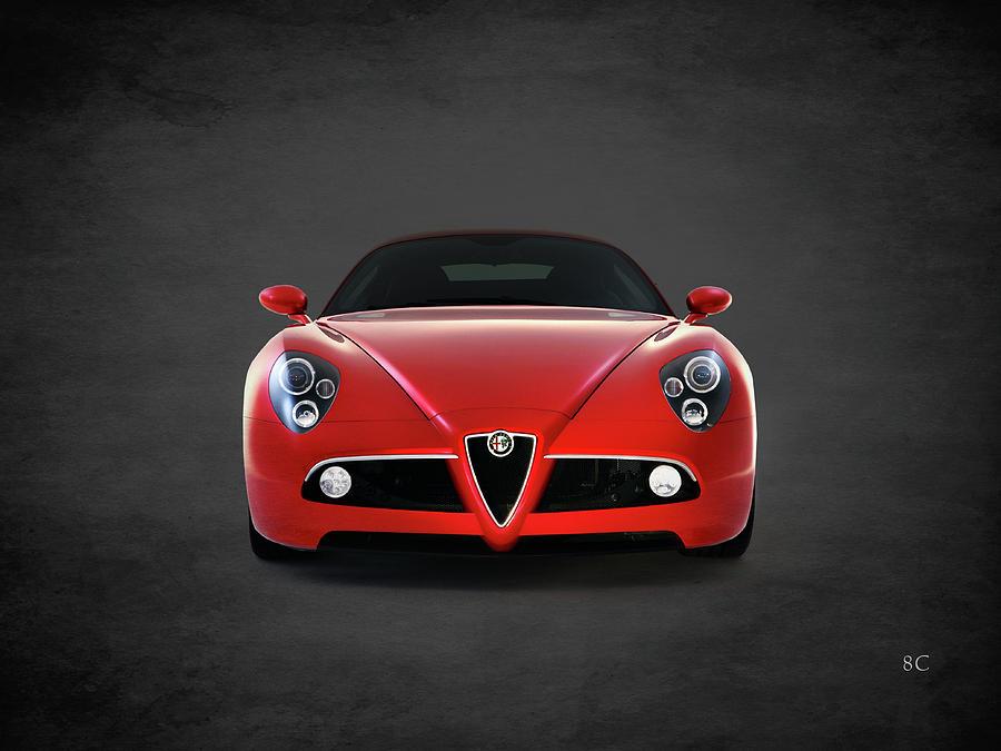 Alfa Romeo 8c Photograph - Alfa Romeo 8c by Mark Rogan