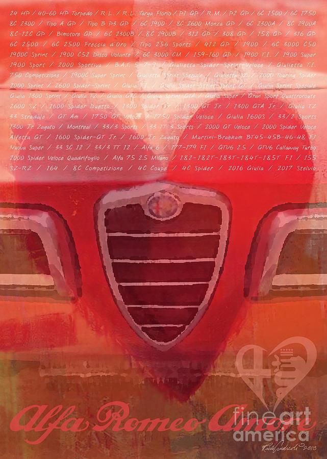 Alfa Romeo Valentine by Rick Andreoli