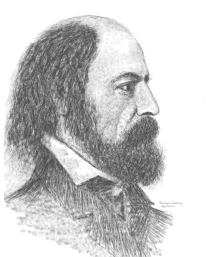 alferd lord tennyson Here is an in-depth analysis of alfred tennyson's classic poem crossing the bar the poem where each stanza is broken down and analysed.