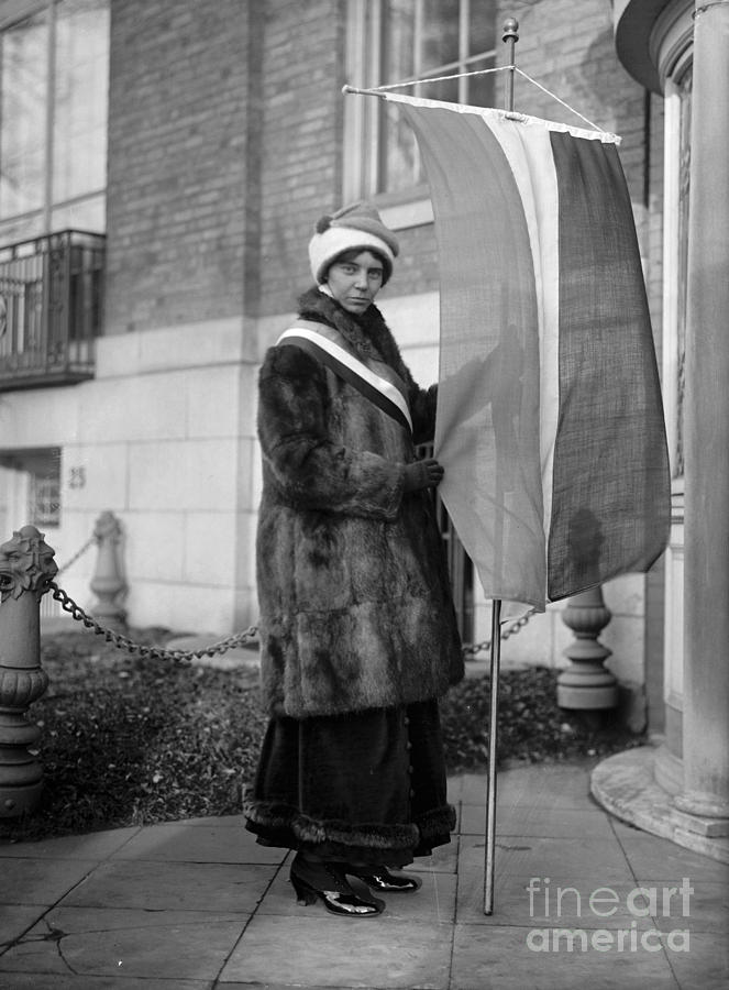 1917 Photograph - Alice Paul (1885-1977) by Granger