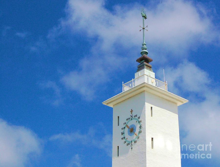 Clock Photograph - All Along The Watchtower by Debbi Granruth