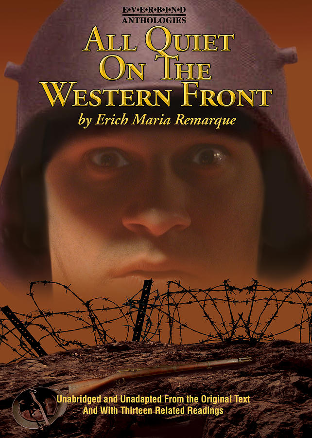 Book Cover Digital Art - All Quiet On The Western front by Harold Shull