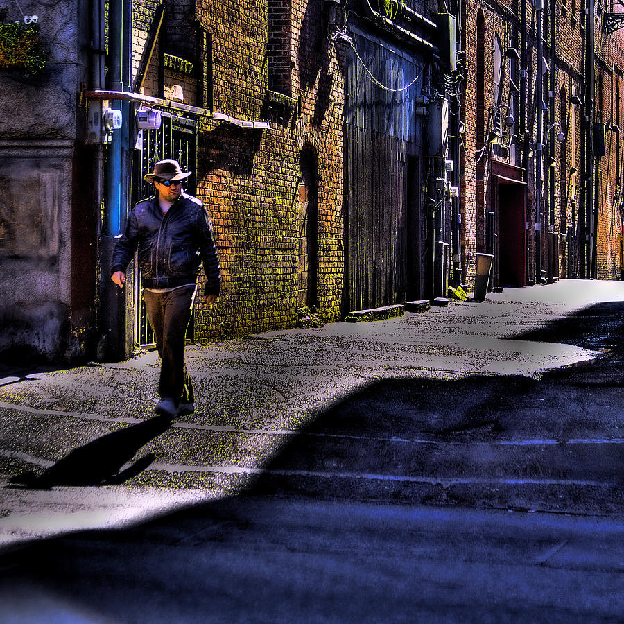 Pioneer Square Photograph - Alley Stroll by David Patterson