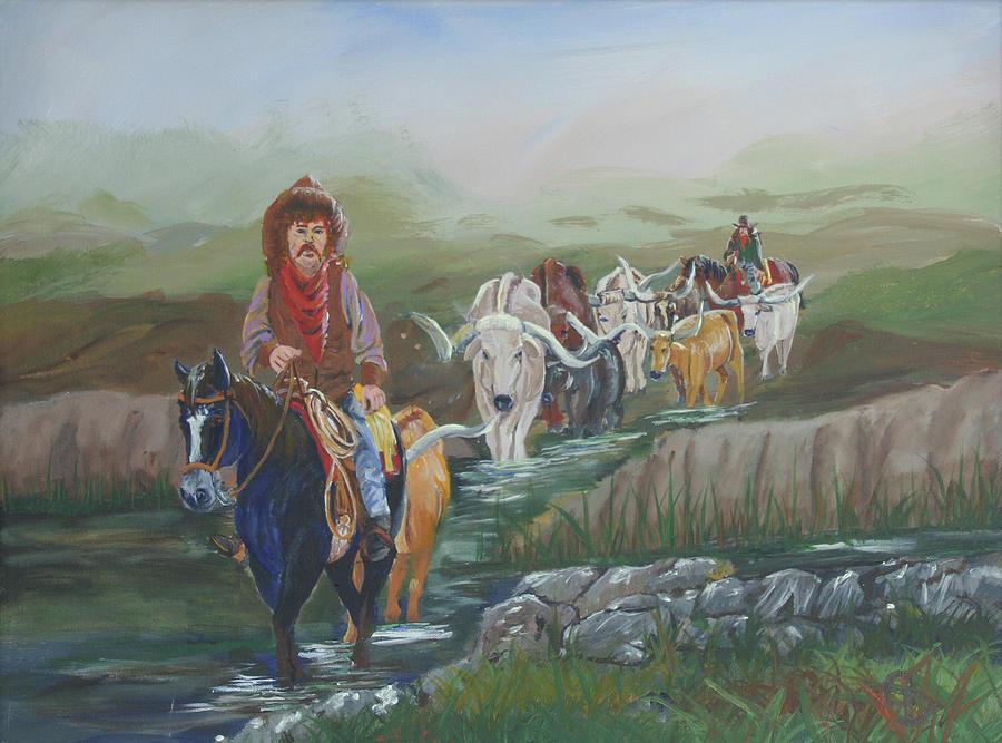 Along The Bozeman Trail by Gail Daley