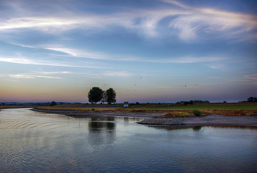 Along the Rhine River by Eleanor Bortnick