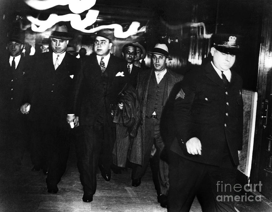 1931 Photograph - Alphonse Capone (1899-1947) by Granger