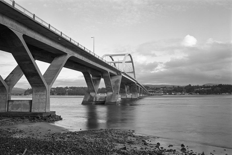 Alsea Bay Bridge by HW Kateley