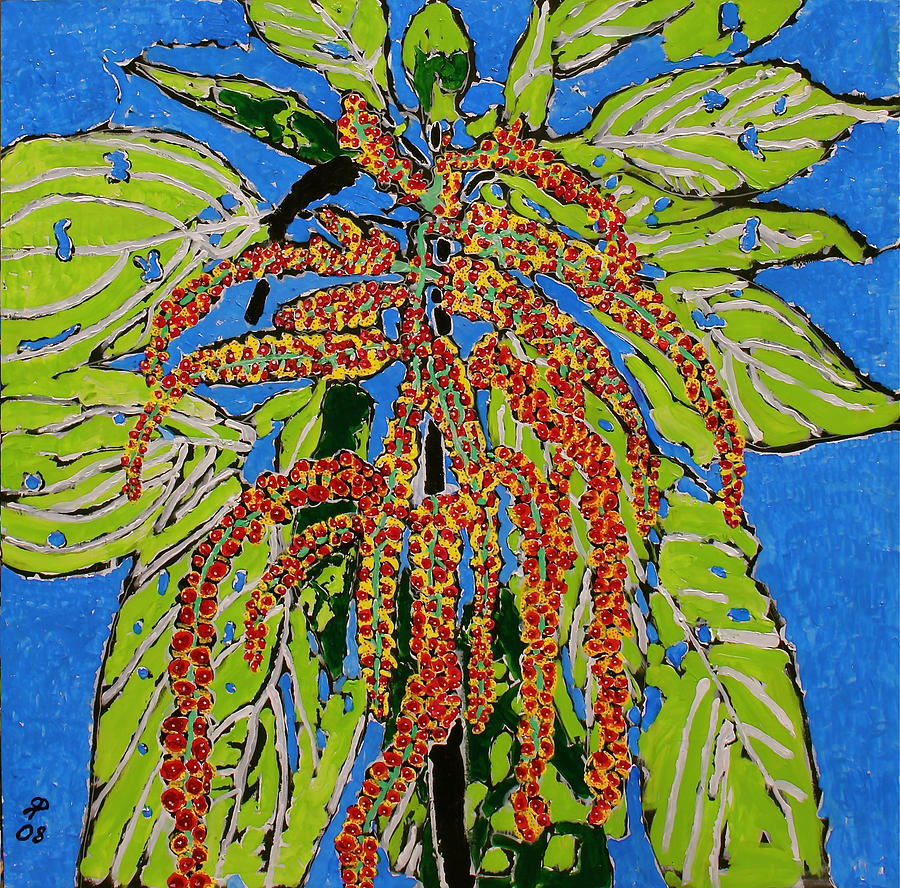 Landscape Painting - Amaranthus Sold by Ray  Petersen