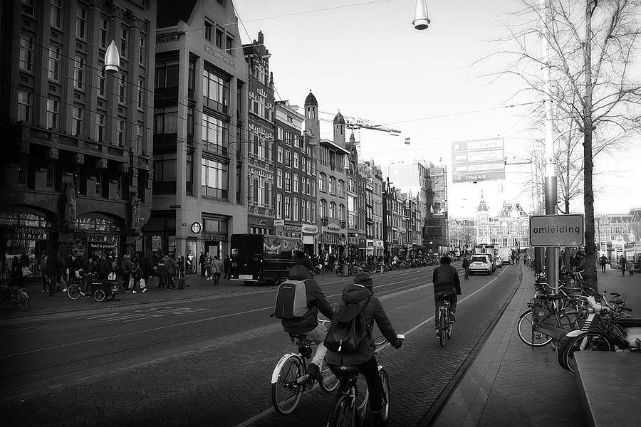 Amsterdam Traffic by Scott Hovind