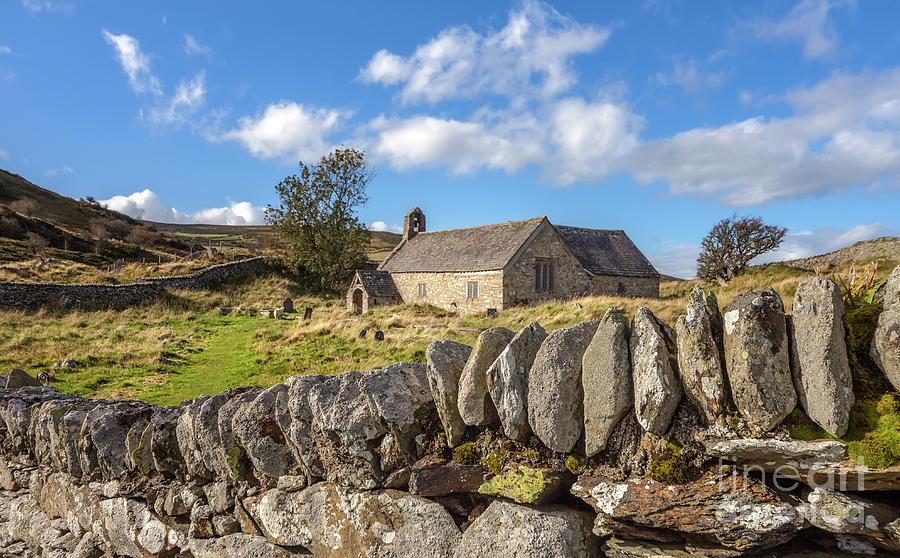 Welsh Church Photograph - Ancient Welsh Church by Adrian Evans