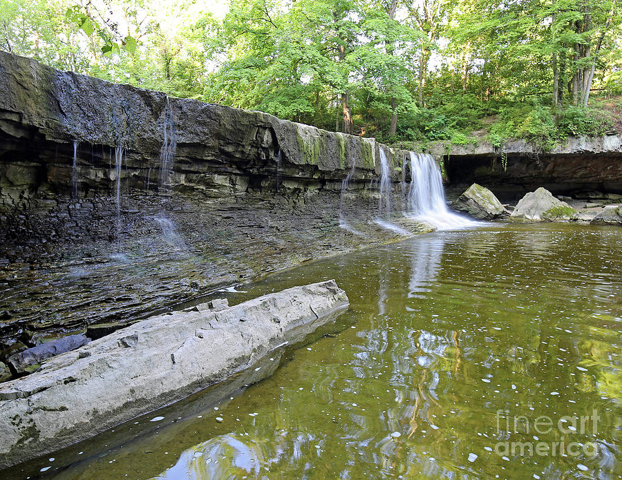 Anderson Photograph - Anderson, Falls, Indiana by Steve Gass
