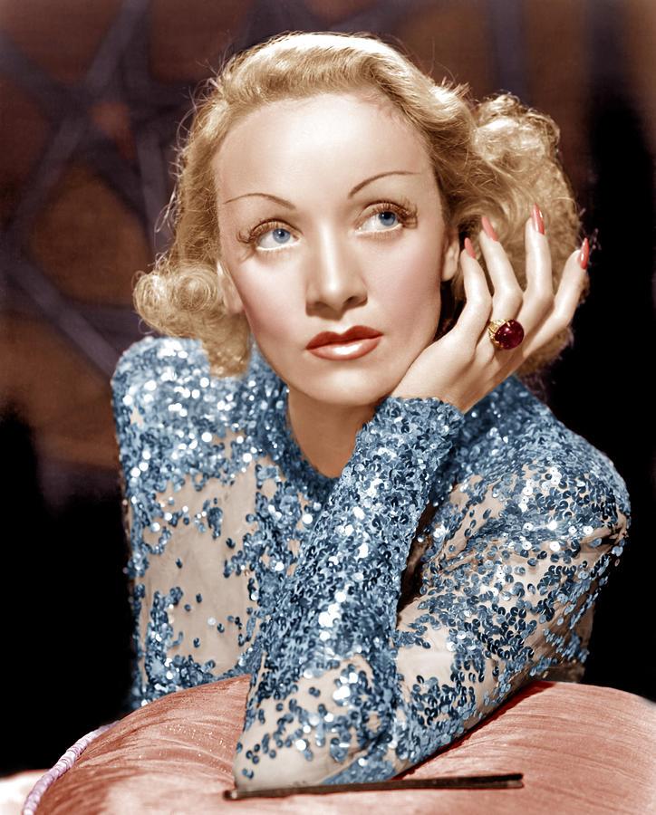 1930s Movies Photograph - Angel, Marlene Dietrich, 1937 by Everett