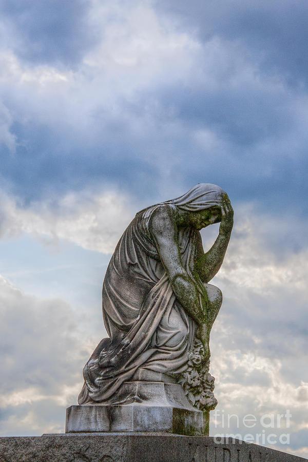 Stone Photograph - Anguish by Randy Steele