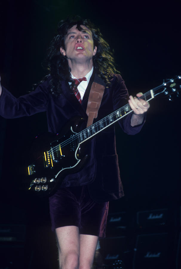 Angus Young Photograph - Angus Young by Rich Fuscia