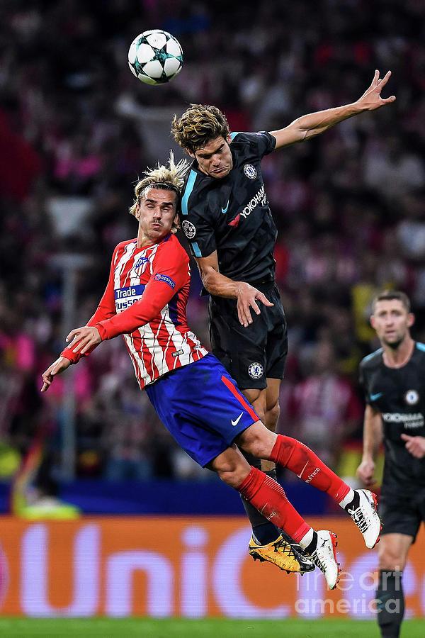 Antoine Griezmann Against Chelsea Fc Photograph By Boris