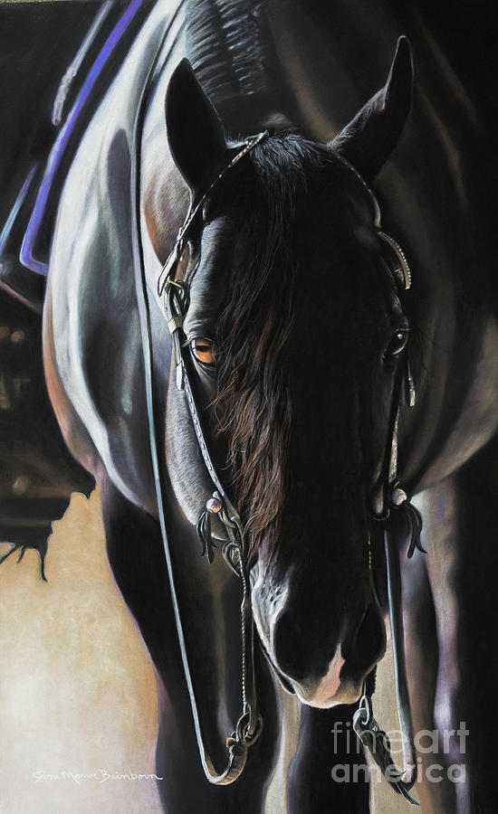 Aqha Pastel - Any Time...Any Place by Joni Beinborn