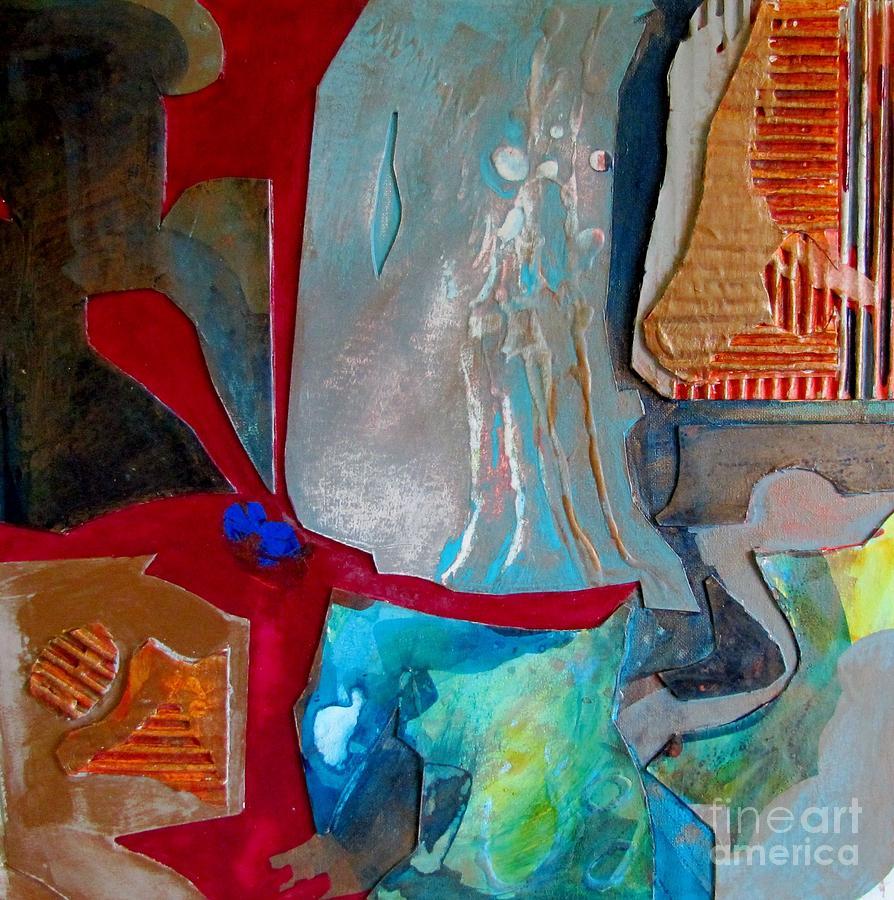Aqua Therapy Painting - Aqua Therapy by Carole Johnson