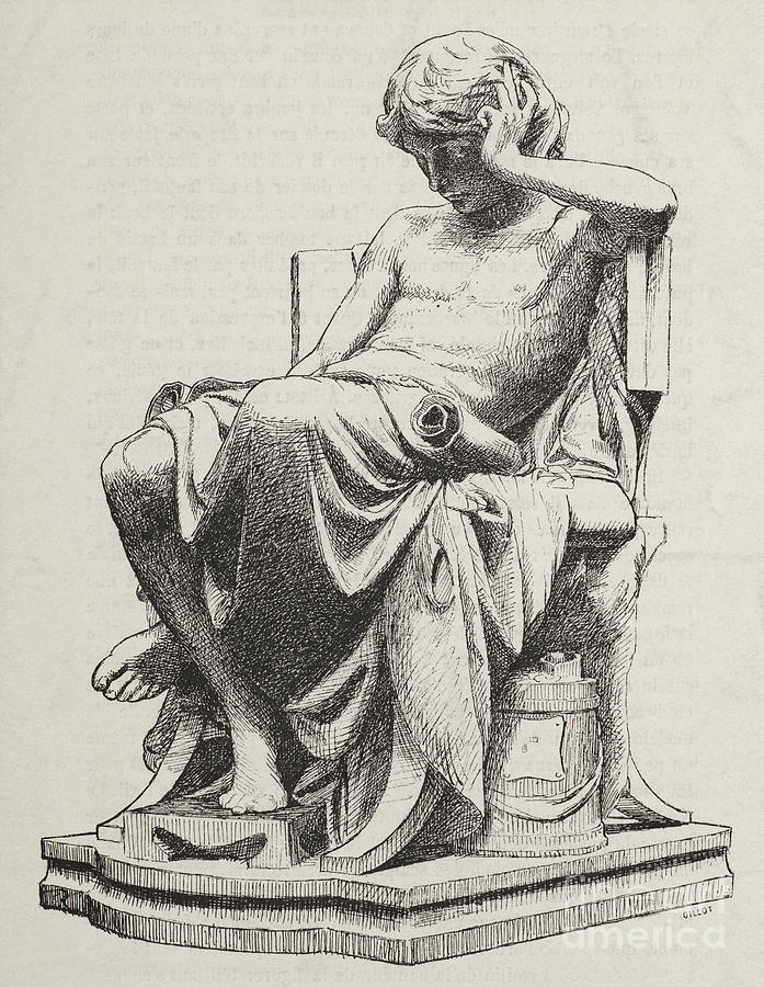 History Photograph - Aristotle, Ancient Greek Philosopher by Science Source