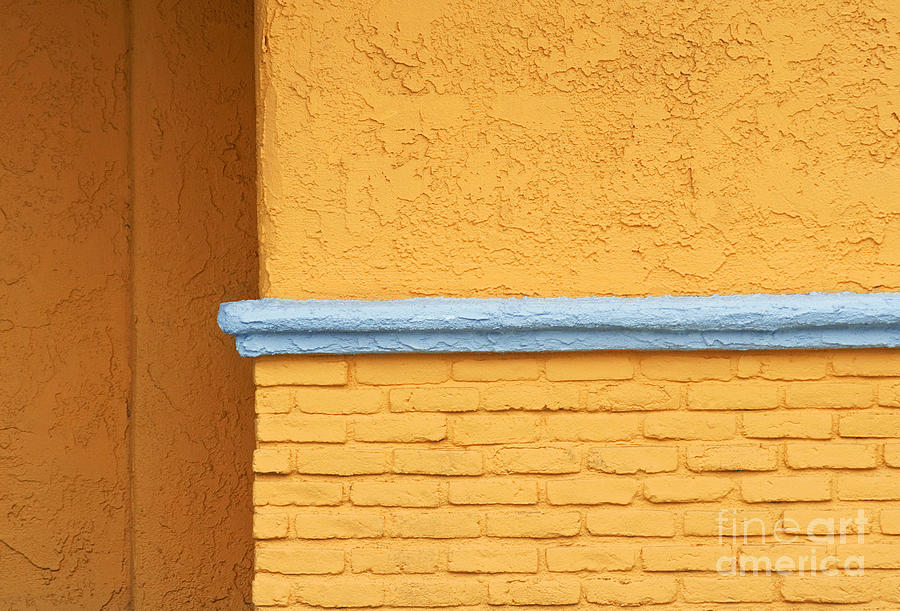 Yellow Photograph - Around The Corner by Dan Holm