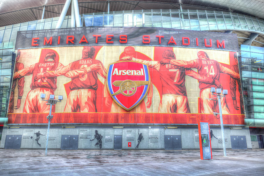 Arsenal Photograph - Arsenal Football Club Emirates Stadium London by David Pyatt