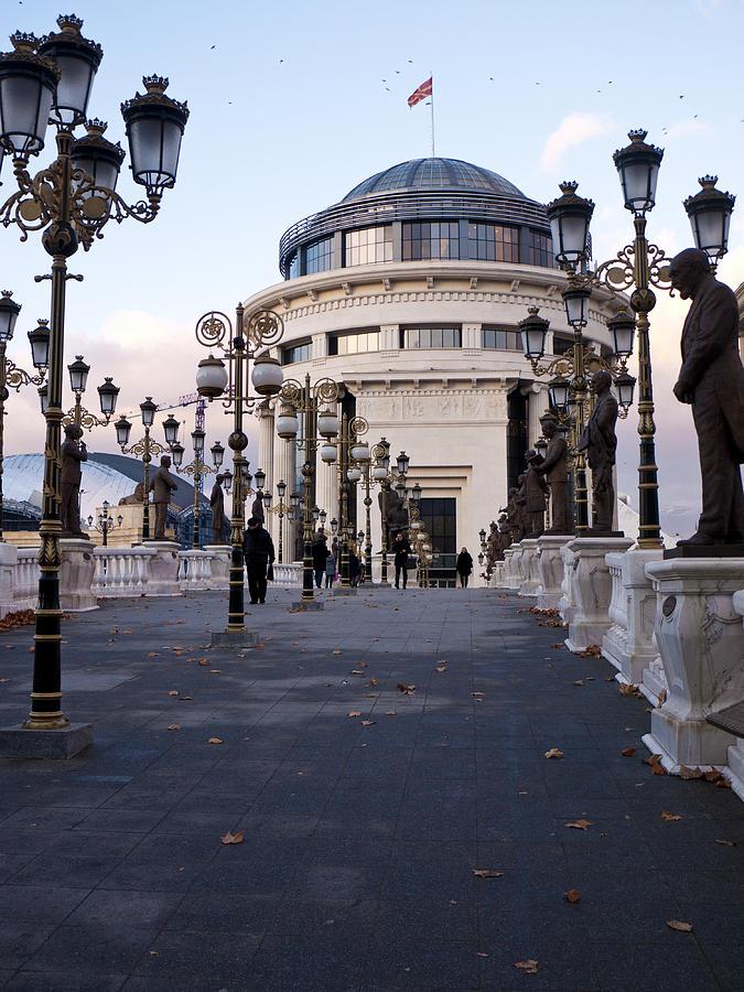 Skopje Photograph - Art Bridge by Rae Tucker