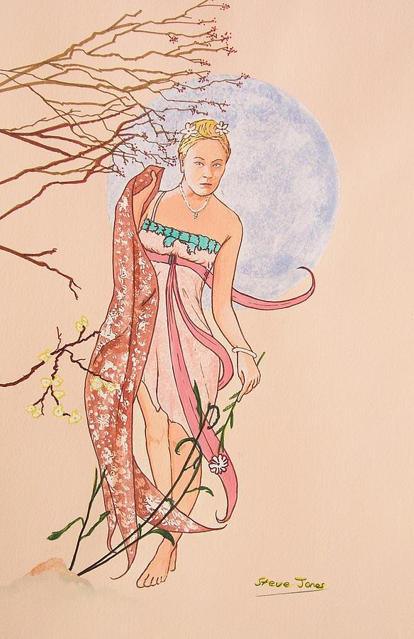 Art Nouveau Painting by Steve Jones