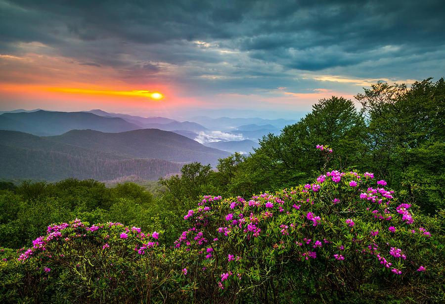 Asheville North Carolina Blue Ridge Parkway Scenic