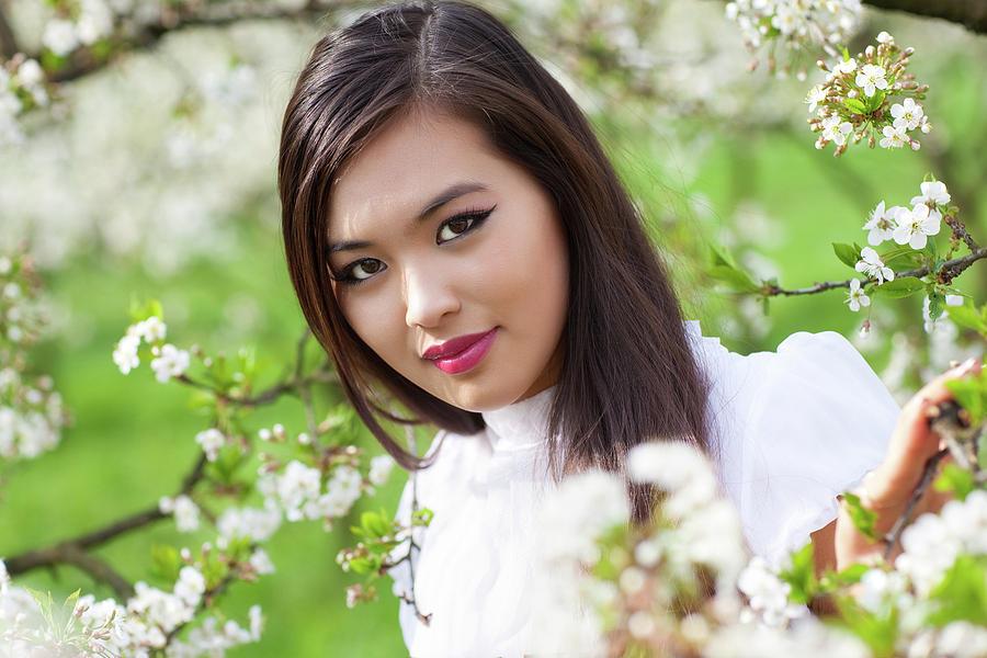 Asian Digital Art - Asian by Dorothy Binder