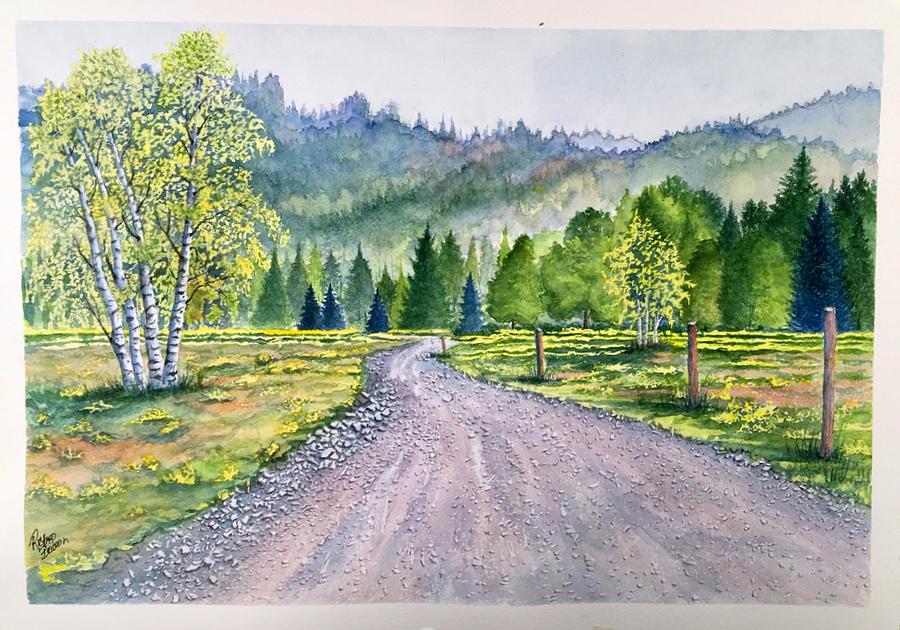 Aspen Road by Richard Benson
