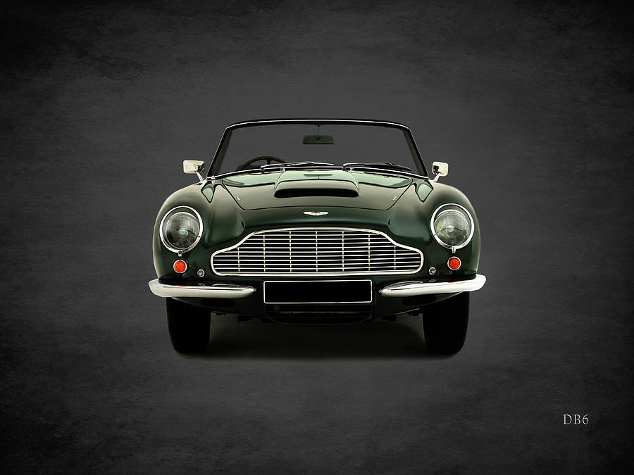 Aston Martin Db6 Photograph - Aston Martin Db6 by Mark Rogan