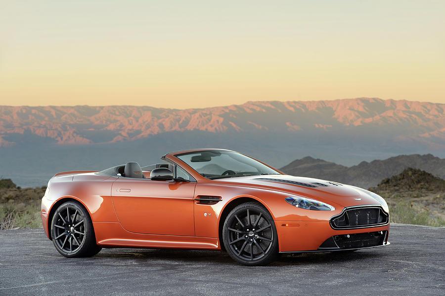 Aston Photograph - Aston Martin V12 Vantage S Roadster by Drew Phillips