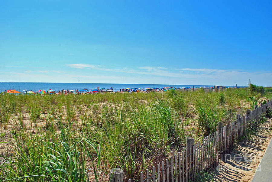 Rehoboth Photograph - At The Beach by Jost Houk