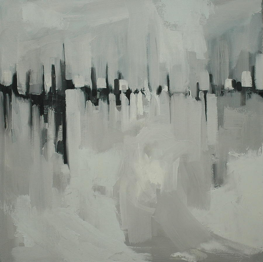 Landscape Painting - Atmospheric Pressure by Liz Maxfield