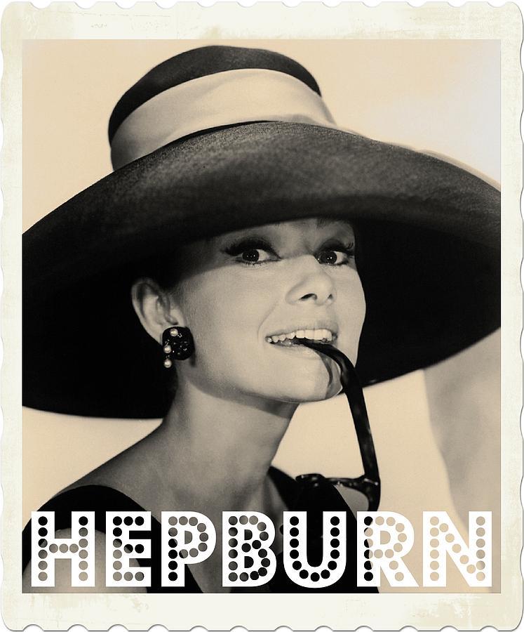 Hollywood Photograph - Audrey Hepburn by John Springfield