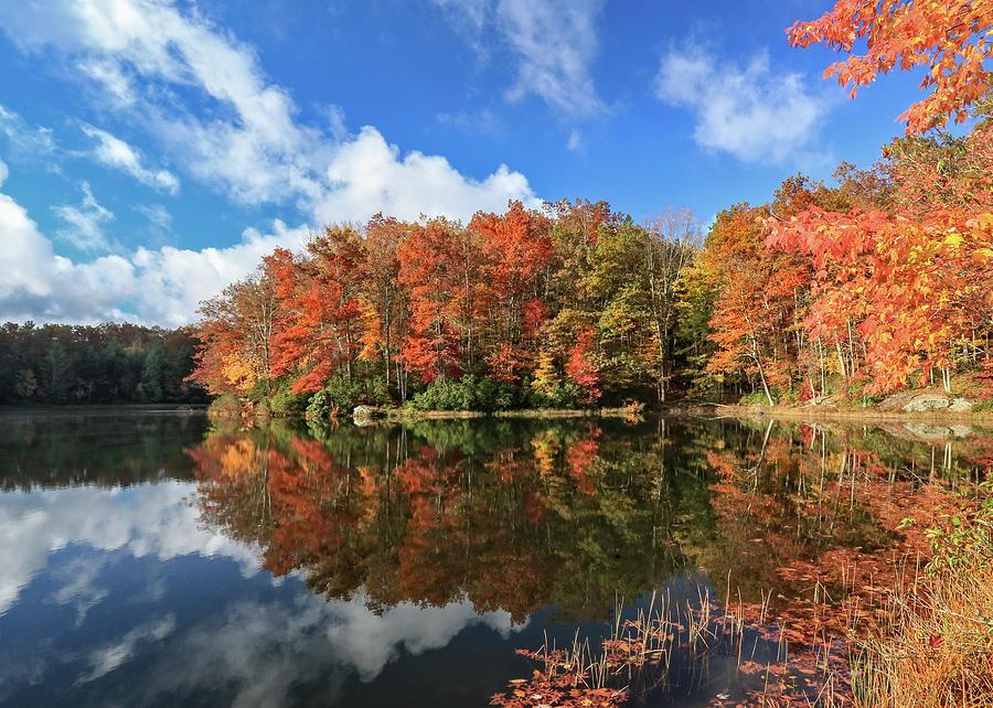 Autumn at Boley Lake by Jaki Miller