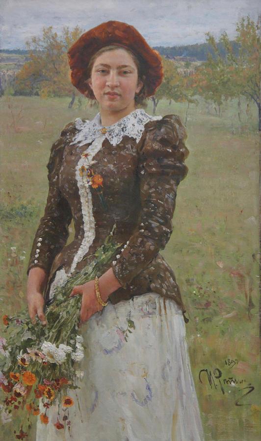 Ilya Repin Painting - Autumn Bouquet by Ilya Repin