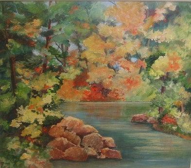 Autumn in Haliburton by Sue Nelson