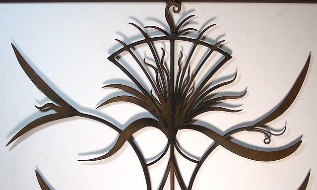 Sculpture Sculpture - Autumn Thistle by Michael Hill